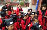 石家莊合作路小學赴正定文廟 穿漢服學古禮承孝道體驗儒家文化