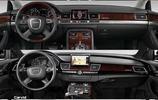 BBA內飾變遷史,奧迪A8、寶馬7系和奔馳S級四代車型的內飾變遷
