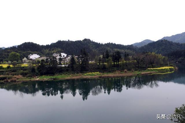山環水繞,風景秀麗的婺源汪口古村