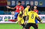 足球——中超:河南建業對陣廣州恆大淘寶
