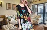 XL~5XL大碼連衣裙時尚還減齡,踏入40+歲,穿衣的品位越是不一樣,能穿出30歲的衣品是怎樣做到