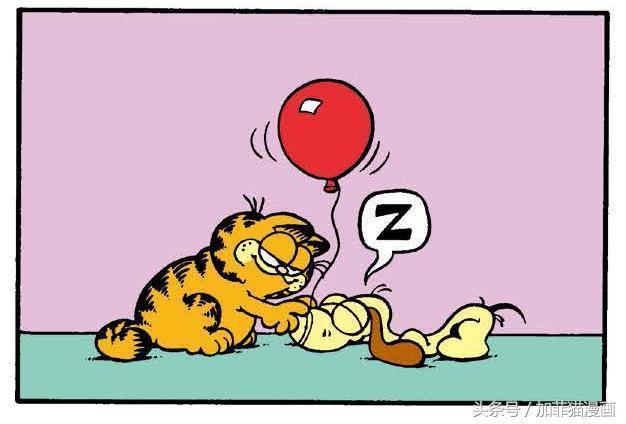 加菲貓漫畫|小貓不壞,主人不愛