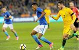 足球——國際友誼賽:巴西勝澳大利亞