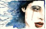 水彩畫 意大利畫家RosariaBattiloro水彩畫欣賞