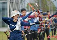 軍運會射箭測試賽開幕,蔡甸射箭館首次亮相獲點贊