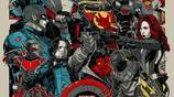 《美國隊長3:英雄內戰》時期兩派對峙【平面插畫集】高清原圖