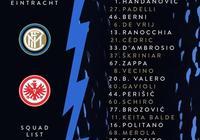 國米歐聯杯大名單:勞塔羅累積黃牌停賽 數位小將入選