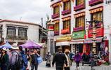 """這條有著1300多年曆史的街道 已成為拉薩靚麗的城市""""名片"""""""