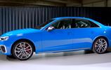 2020款歐版奧迪S4海外實拍,四出排氣很霸氣