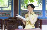 中國風旗袍,茶室,古韻味