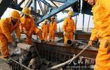 鄭萬高鐵唐河特大橋順利合龍 鄭州到襄陽段鋪軌在即