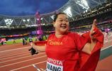 田徑世錦賽女子鏈球決賽 王錚獲得亞軍張文秀第四