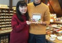 日本媳婦服了!中國老公吹2千度高溫玻璃禮物 體能太強打動福原愛