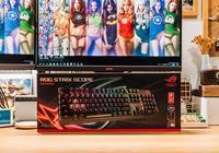 FPS遊戲掌控者,華碩ROG Strix Scope電競遊戲機械鍵盤初體驗
