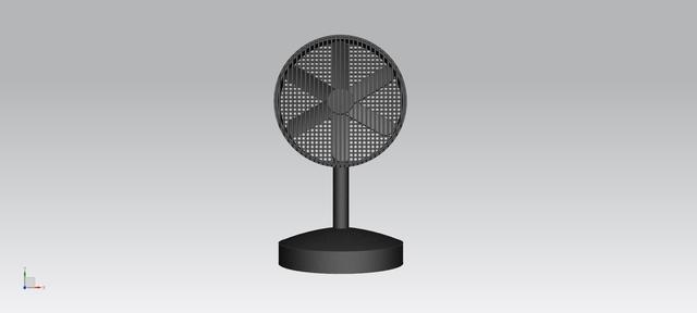 「海威電子」非常漂亮的小檯扇!原創設計!
