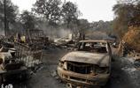 2017年10月9日大火席捲了美國加州北部地區