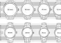 買手錶時,有考慮過錶盤多大才合適嗎?