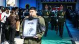 毛岸青追悼會珍貴照片,數千群眾到現場送別