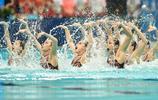 花樣游泳——集體項目預賽賽況