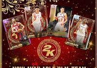 NBA2K推出2019年春節版球員卡,其中巔峰姚明能力值96,火箭時期周琦83,你怎麼看?