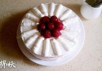 簡易快速的生日蛋糕
