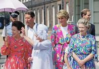 30年前,戴安娜王妃是英國王太后最寵愛的孫媳,比今天凱特還討喜