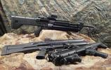 美國人造的霰彈槍,造型很別緻