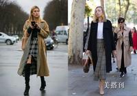 多種風格的大衣+裙裝穿搭,好看的造型都在這兒了