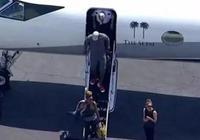 詹姆斯的私人飛機,杜蘭特的私人飛機,科比的私人飛機,這差距!