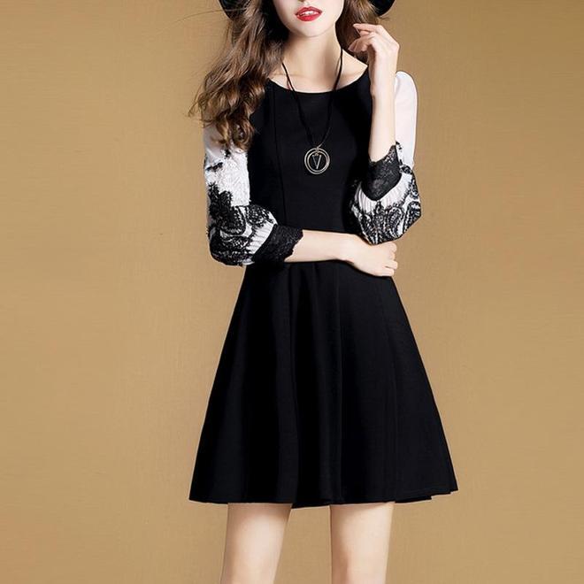 秋冬經典百搭連衣裙,花樣穿出你的美!減齡優雅有女人味
