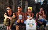 古巴混血美女