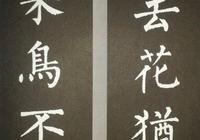 柳公權楷書集字書法對聯