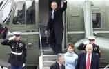 美國前總統離開白宮
