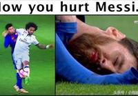 馬塞洛如何虐梅西,梅西就如何回馬塞洛,互相傷害還是球王厲害