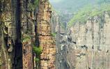 實拍一座掛在崖壁的村莊,看一眼都滿身冒冷汗