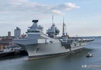 英國再出事!三名海軍官兵幾乎淹死在超級航母內