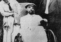 列寧生前最後一張照片