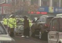 臨清一名奧迪女司機不服交通管制並推搡民警 被拘留10天