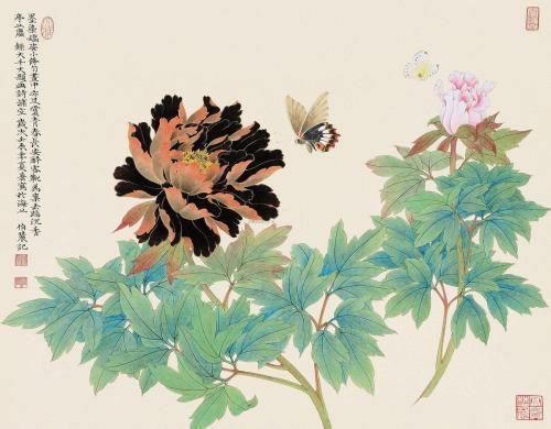 劉伯農的世界—工筆花鳥山水畫集
