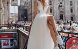 """""""我腿長,不需要高跟鞋!""""俄羅斯新娘的婚紗照,太酷了"""