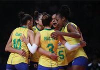 全面碾壓!巴西女排完勝土耳其隊 率先晉級決賽