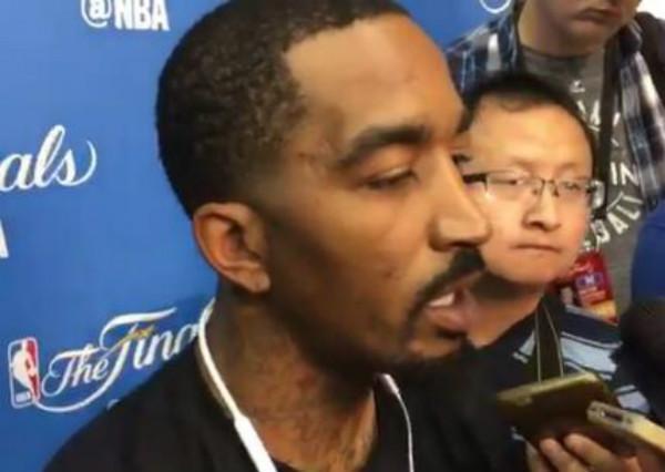 JR:騎士只要做好自己,勇士就贏不了我們