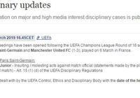 內馬爾麻煩來了!歐足聯官方對他一行為指控,或遭重罰!