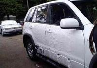 沒車位女子將車亂停一宿,早上取車時差點沒哭出來!