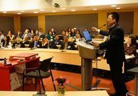 聯合國邀請書法大家張旭光在紐約演講,共賞書法
