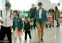 田雨橙出現機場,氣場不輸於媽媽