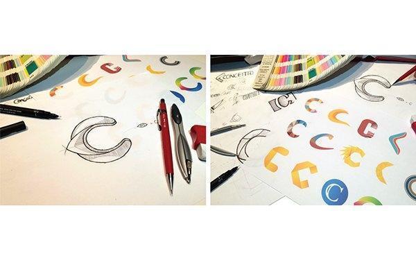 LOGO設計構思與設計過程