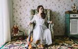 白裙美女私房唯美寫真公主範十足