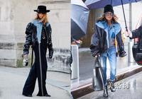 今年冬季想要時髦的出街很簡單,一件拼色外套就能幫你解決問題