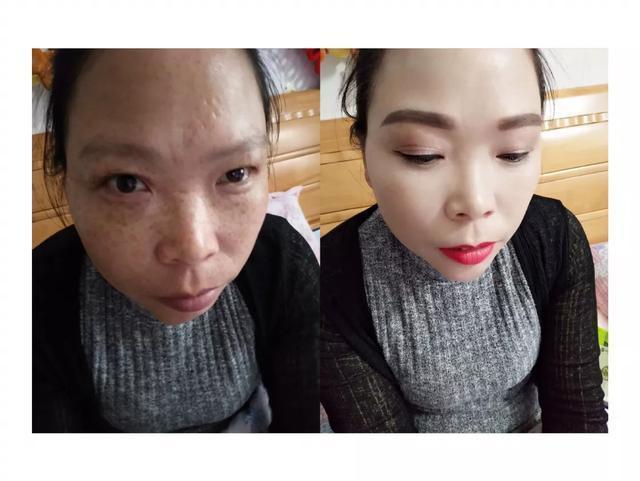 化妝和不化妝的區別?